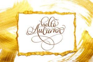Hello Autumn Dreamstime