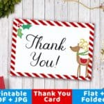 Read more about the article Sending Christmas Thank You Notes Printable