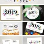 Read more about the article DIY Printable Happy New Year Card