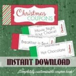 Read more about the article Printable Christmas Coupon Book