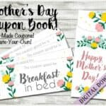 Read more about the article Mothers Day Coupon Book Printable