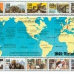 Read more about the article USPS 1945 Victory at Last WWII Sheet of stamps