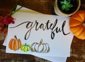 Grateful Fall Cards