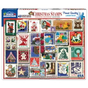 Christmas Stamps Puzzle 2019
