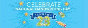 National Handwriting Day 2020