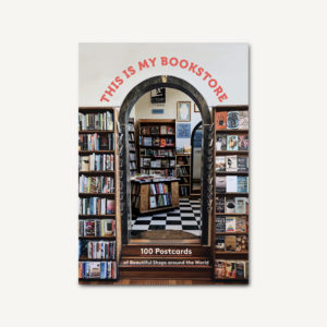 This Is My Bookstore Postcard Box