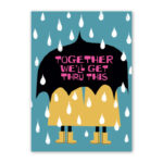 Read more about the article Together We'll Get Thru This Umbrella Card by Rock Scissor Paper