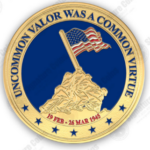 Read more about the article 75th Anniversary of Iwo Jima Ending, Brazos Valley WAA Special Challenge Coin, & Letters From Home Campaign Thank You Veterans