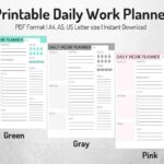 Read more about the article Daily Work Planner Printable & Day2 WP Migration Continues