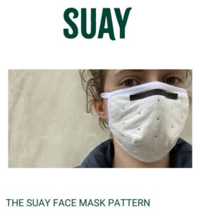 Suay Face Mask Sewing Pattern