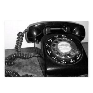 Rotary Dial Telephone Postcard