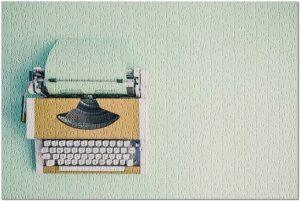 Lantern Press Typewriter Puzzles Retro Hipster