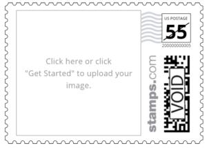 Custom PhotoStamps Stamps.com Customized Postage Program