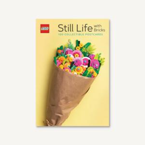 LEGO Still Life with Bricks Postcards Book