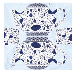 DAPHNE'S DIARY Folding teapot paper project printable