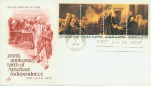 Bicentennial First Day of Issue 1976 cachet covers