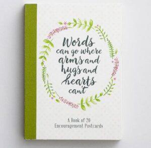 Dayspring Encouraging Words Postcard Book