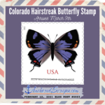 Read more about the article Colorado Hairstreak Butterfly Stamp Debuts March 9th