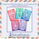 Read more about the article Papercut Illustrations Art Postcards by Sarah Trumbauer Creatives