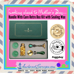 Handle With Care Retro Box Kit with Sealing Wax