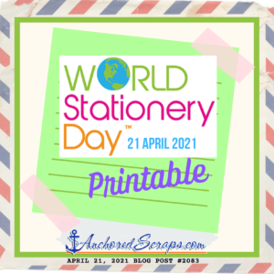 World Stationery Day 2021 Printable