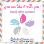 Read more about the article You CAN take it with you: Small Letter Openers