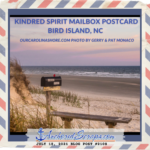 Read more about the article Kindred Spirit Mailbox Postcard Bird Island, NC