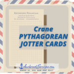 Read more about the article Crane PYTHAGOREAN JOTTER Card