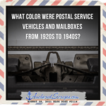 Read more about the article What color were Postal Service vehicles and mailboxes from 1920s to 1940s?