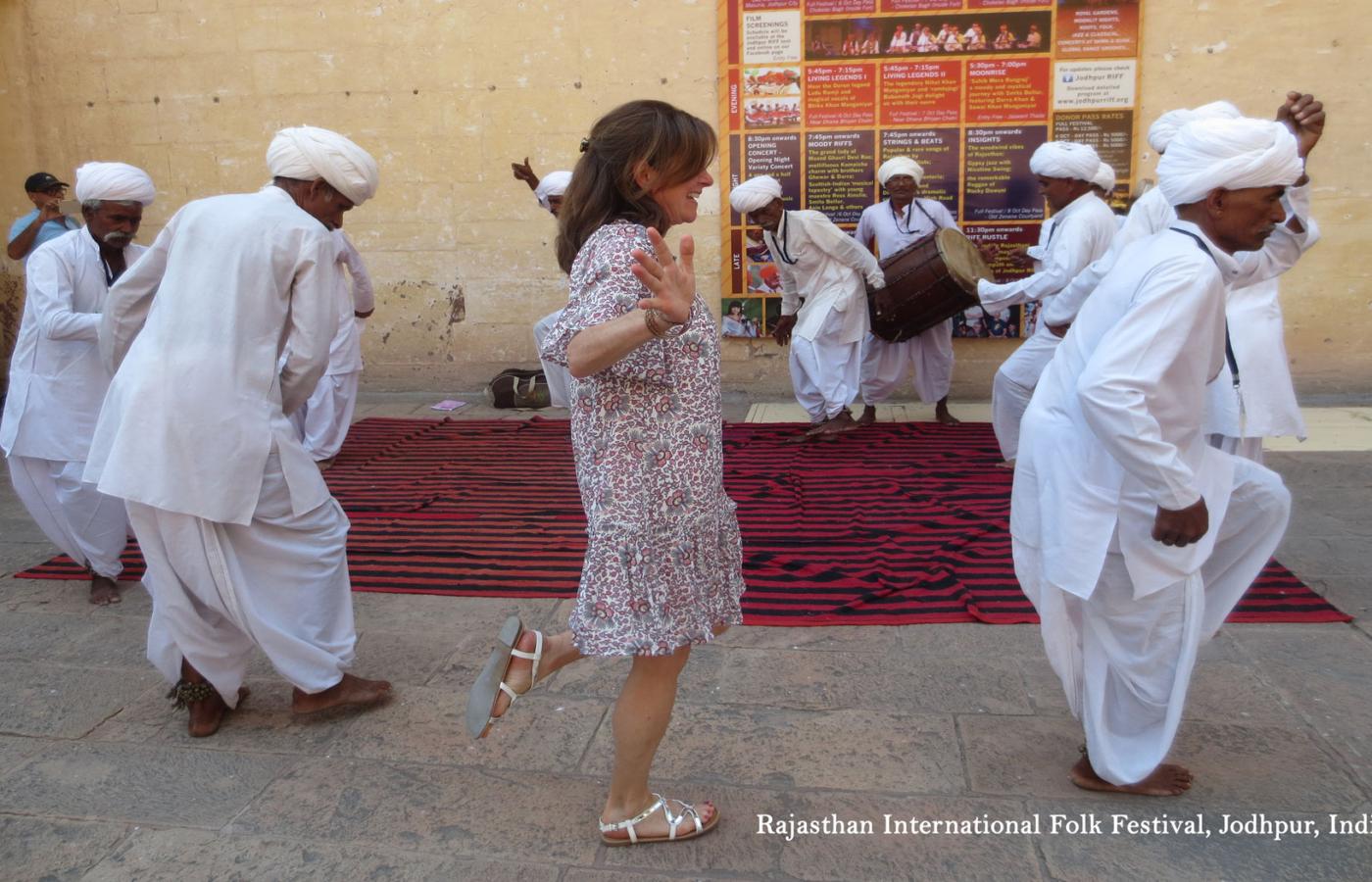 Rajasthan-International-Folk-Festival,-Jodhpur,-India