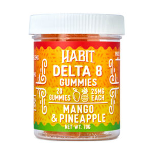 New Delta 8 Mango and Pineapple Gummies