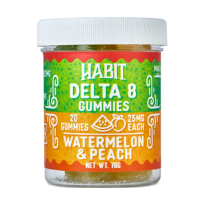New Delta 8 Watermelon and Peach Gummies