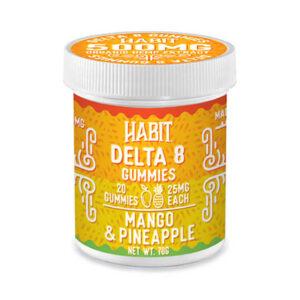 Delta8 mango pineapple gummies