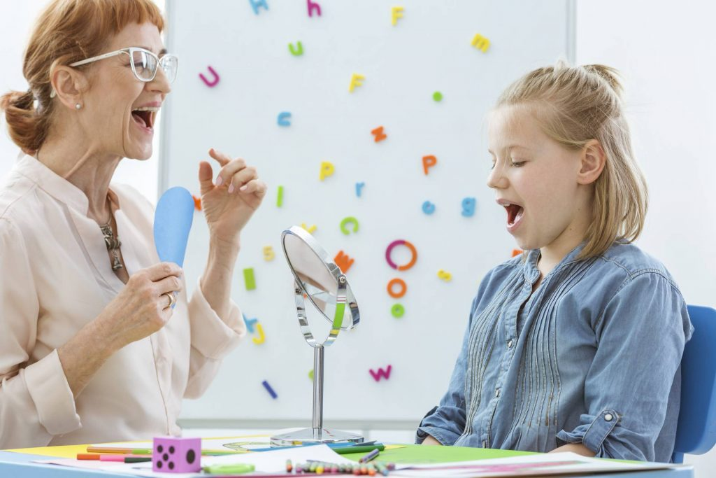 Learn and Grow Therapy conduct speech therapy with school-aged children.
