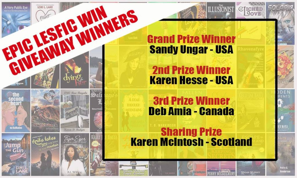 Epic Lesfic Win Giveaway Winners