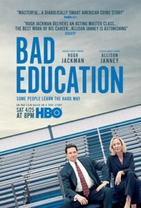 HBO's Bad Education movie poster