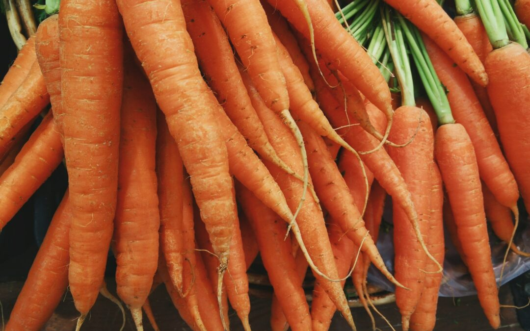 Surprising reason to eat raw carrots?
