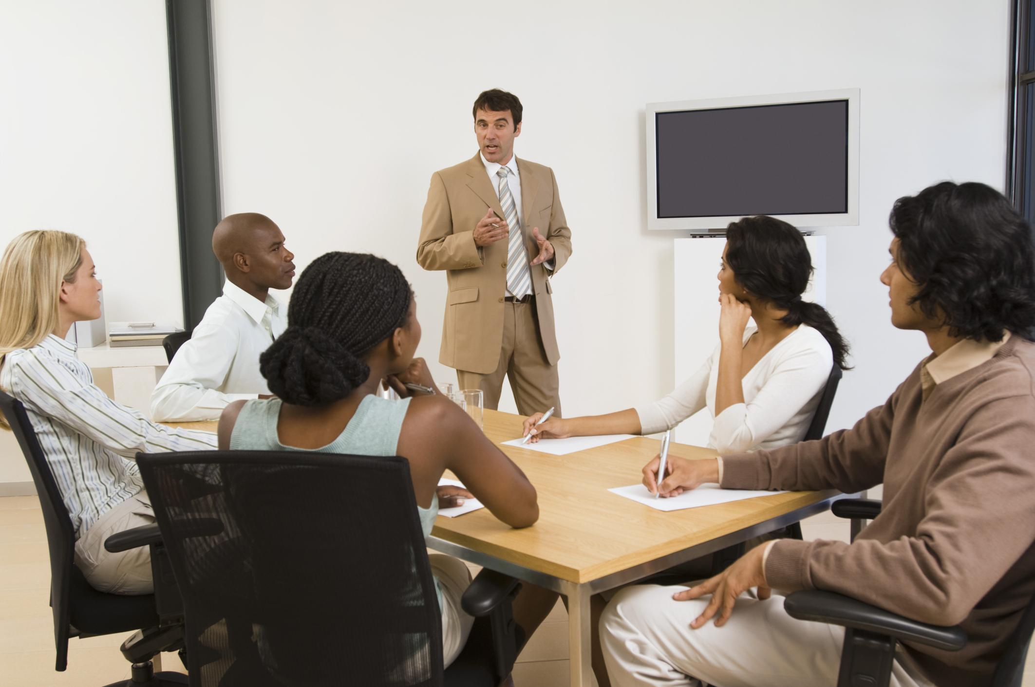 Business Coaching Meeting