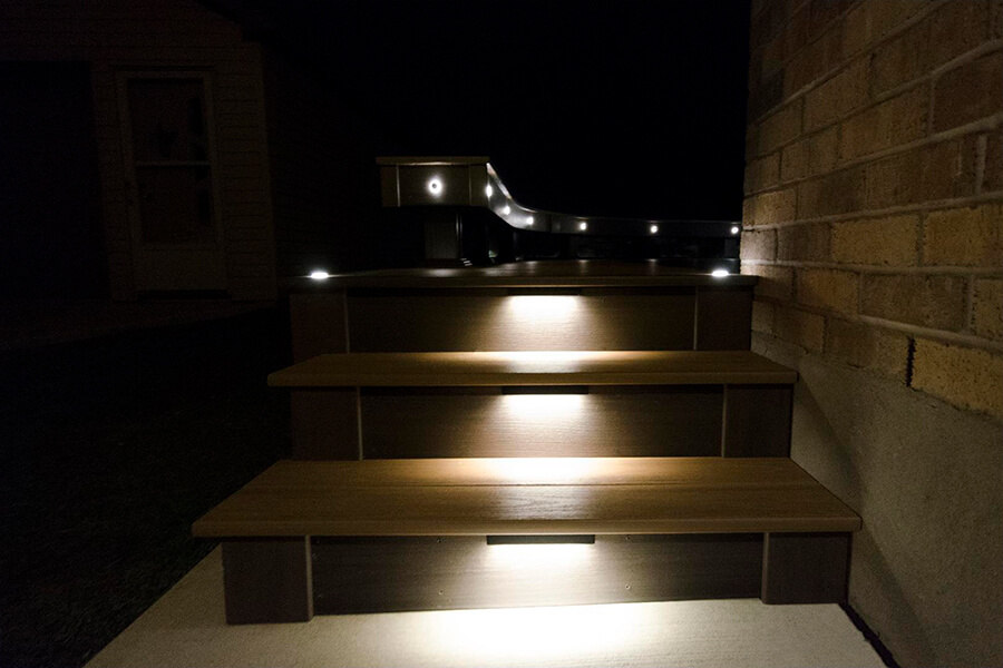 custom deck lights