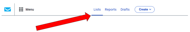 GetResponse Contact Lists