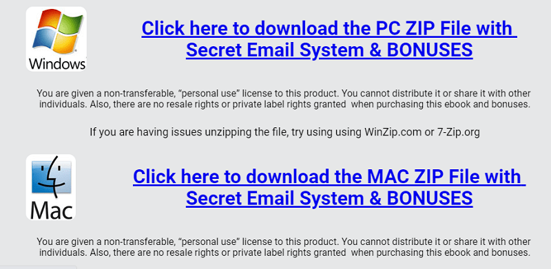 Download Secret Email System - Windows and Mac
