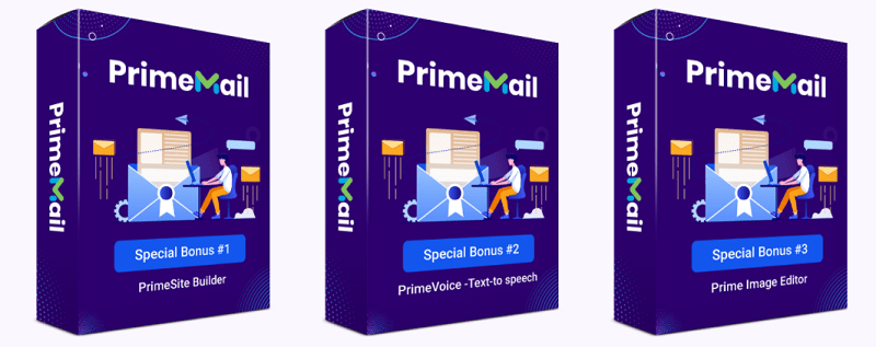 PrimeMail Bonuses