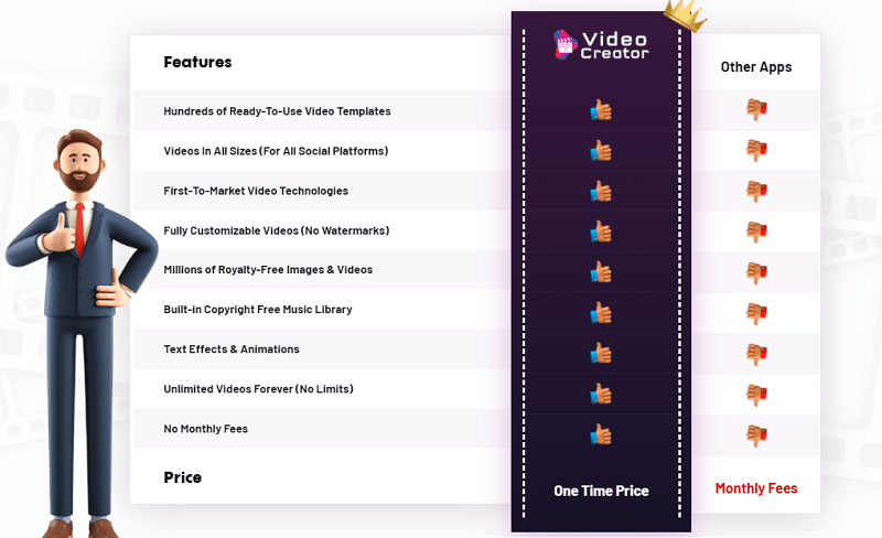 Video Creator vs Other Apps