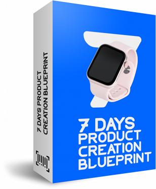CopyBlocks Bonus 1 - 7 days product creation blueprint