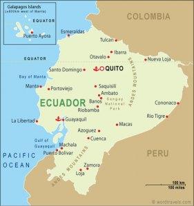 ecuador street map