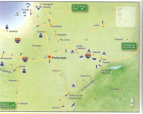 porto viejo ecuador map