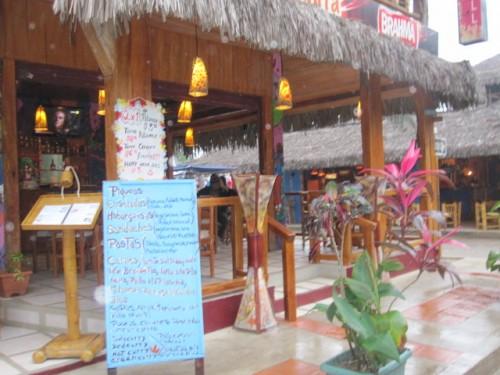 montanita restaurant cabana