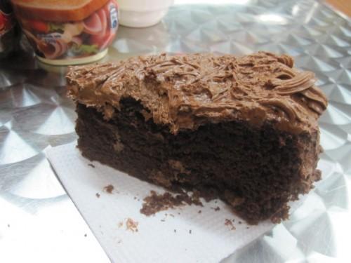 pastel de chocolate en Ecuador