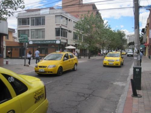 taxis-in-ecuador
