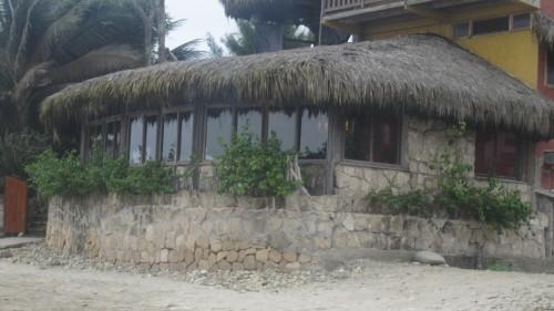 ecuador beach tiki huts